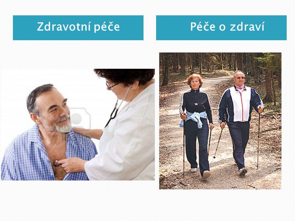 Zdravotní péče Péče o zdraví