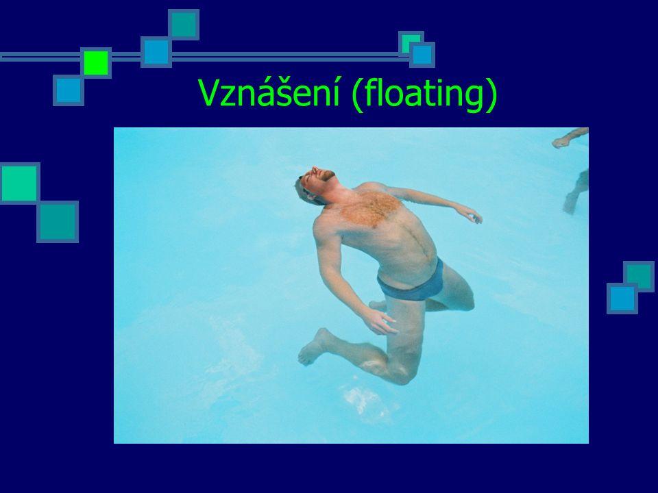 Vznášení (floating)