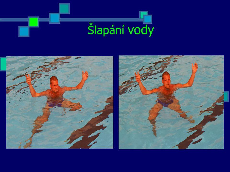 PLAVÁNÍ NA BOKU A ZÁKLADNÍ ZNAK Plavání na boku Plavecký způsob užívaný při dopomoci unavenému plavci, při osobním zásahu, ale také při nesení předmětů nad hladinou nebo jejich tažení na hladině.