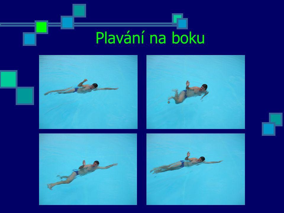 Základní znak Základní znak používáme hlavně při tažení tonoucího, kdy zachránce musí plavat v poloze na znaku a nemá volné paže.
