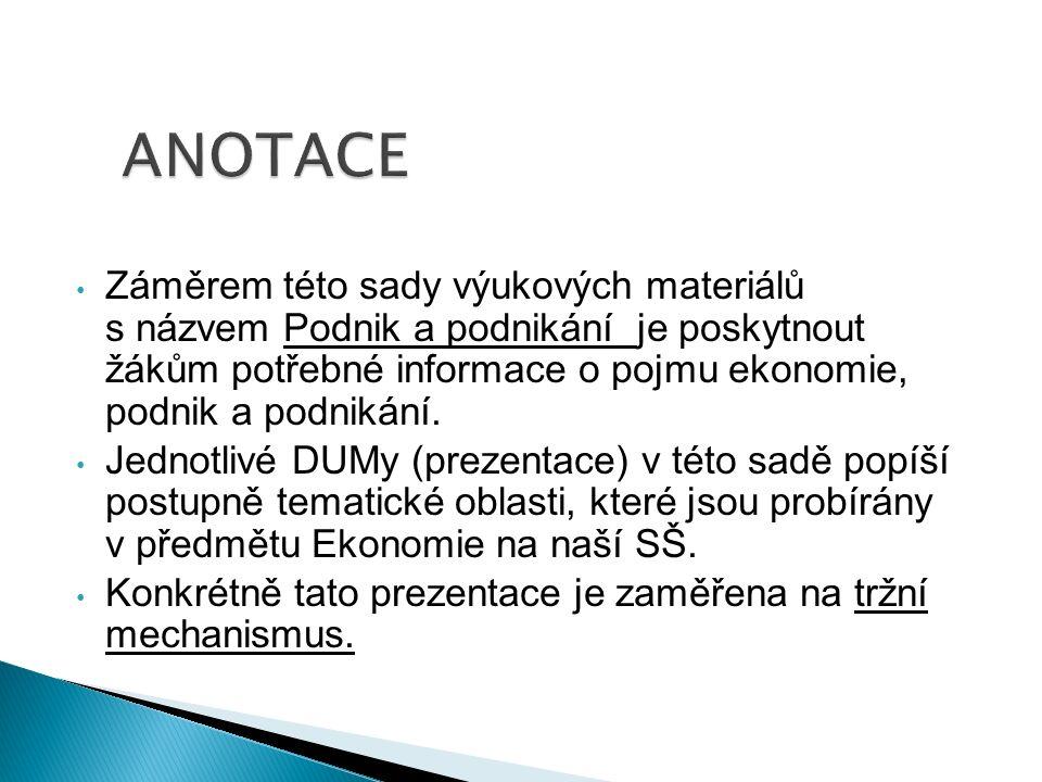 Substituční výrobek, nebo služba: Jde o vzájemně zaměnitelné výrobky nebo služby.