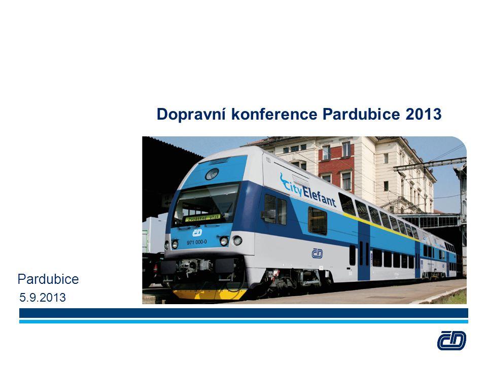 Dopravní konference Pardubice 2013 Pardubice 5.9.2013