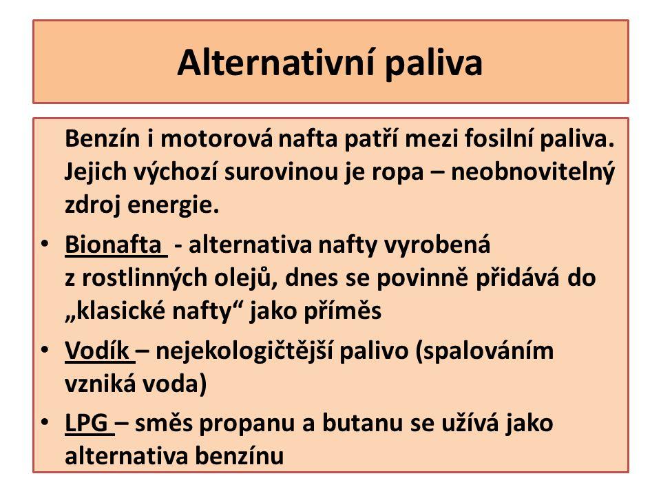 Použité zdroje Učební texty byly vytvořeny s využitím učebnice: ŠKODA, Jiří a DOULÍK, Pavel: Chemie 8 pro základní školy a víceletá gymnázia.