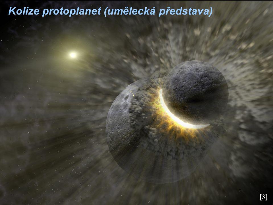 [4] Formování obří planety (umělecká představa)