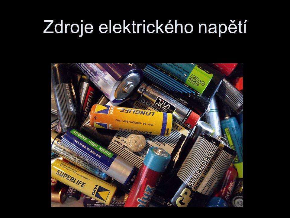 Zdroje elektrického napětí