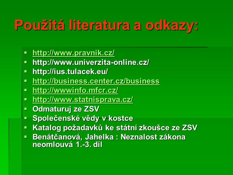 Rozhodni, do kterého odvětví práva patří:   1. Volby do Senátu ČR   2.