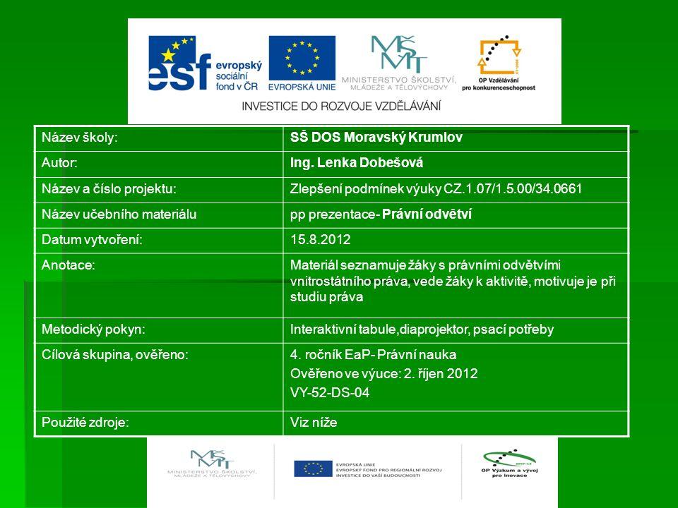 OBČANSKÉ PRÁVO  Pramen: Občanský zákoník  - soubor norem, které upravují vztahy mezi občany, majetkové vztahy FO a PO / chrání nedotknutelnost vlastnictví/  Práva věcná / vlastnictví/  Právo dědické  Práva závazková  http://obcansky-zakonik.eu/obecna-ustanoveni/