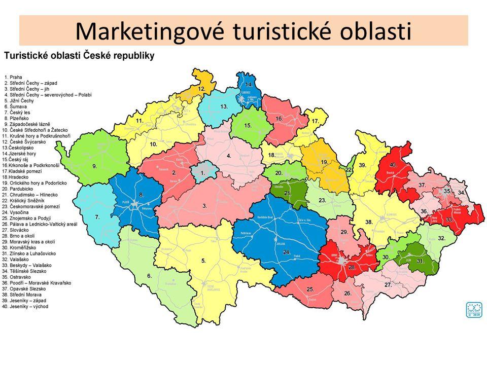 Marketingové turistické oblasti
