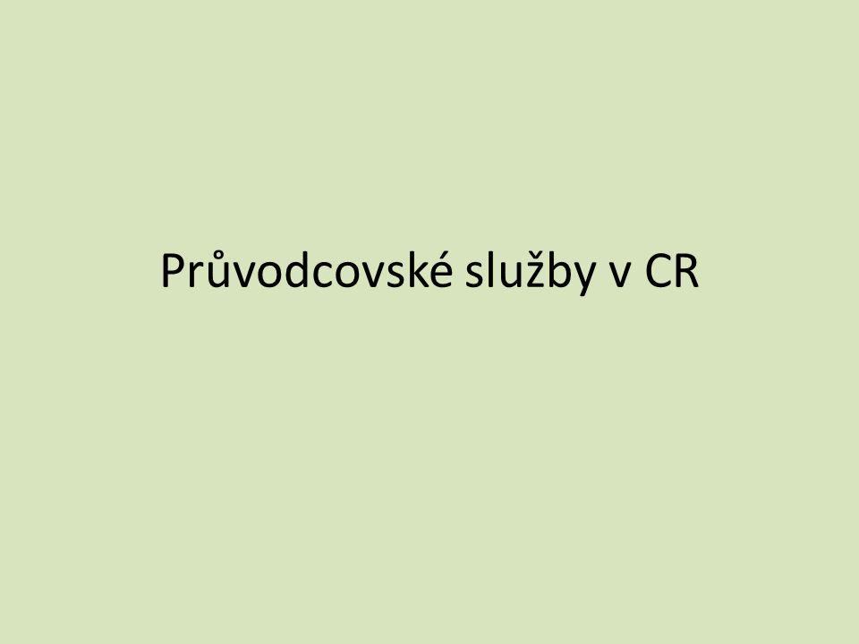 Průvodcovské služby v CR