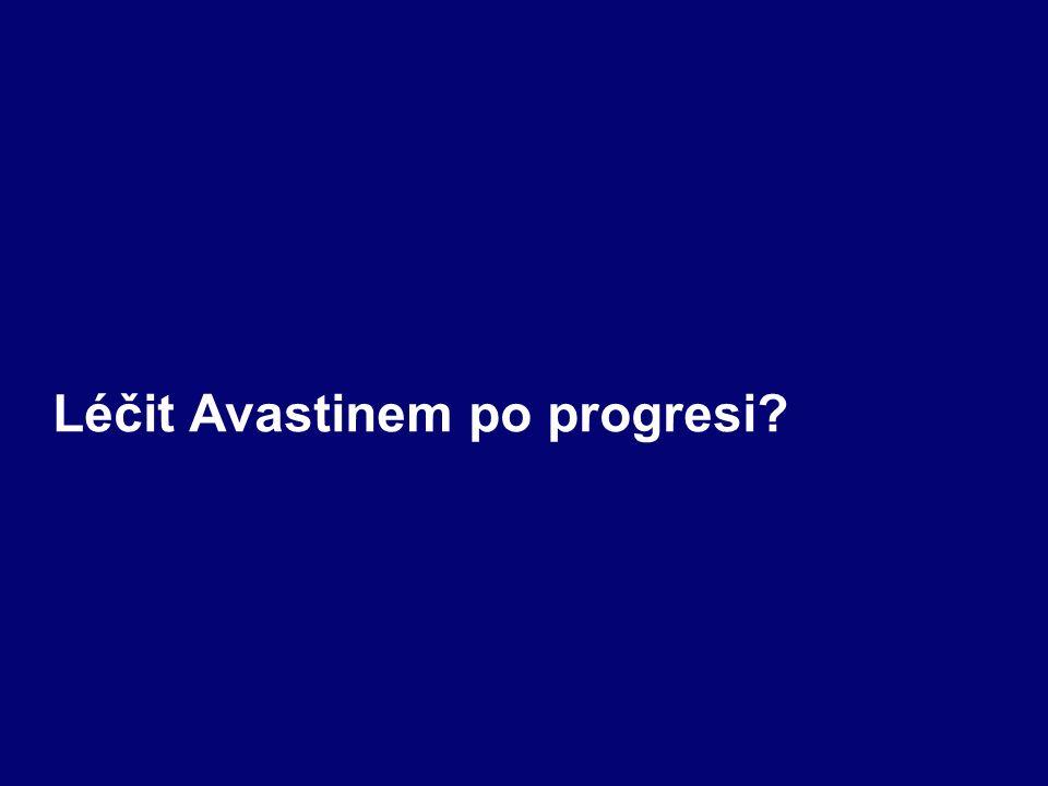 Léčit Avastinem po progresi