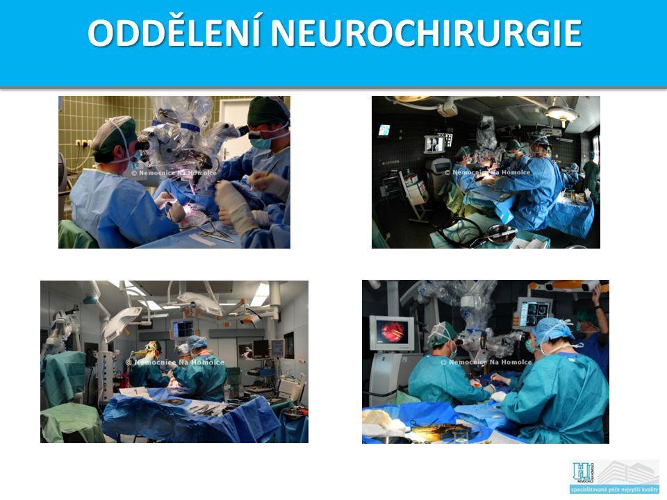 ODDĚLENÍ NEUROCHIRURGIE