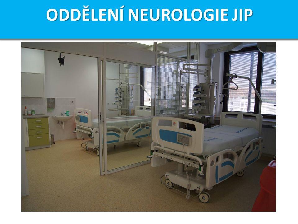 ODDĚLENÍ NEUROLOGIE JIP