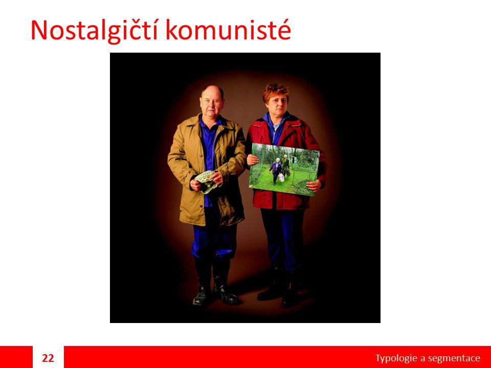 Nostalgičtí komunisté Typologie a segmentace 22