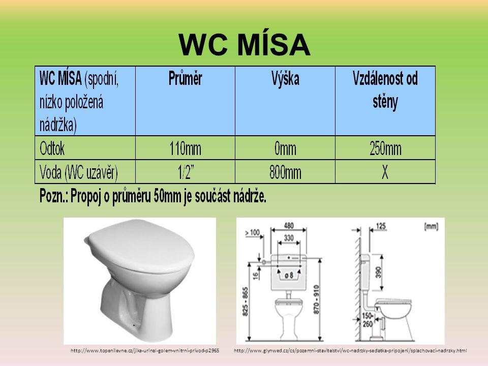 WC MÍSA http://www.topenilevne.cz/jika-urinal-golem-vnitrni-privod-p2965http://www.glynwed.cz/cs/pozemni-stavitelstvi/wc-nadrzky-sedatka-pripojeni/splachovaci-nadrzky.html