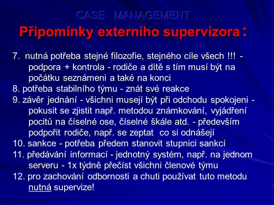 Připomínky externího supervizora : Připomínky externího supervizora : 7.