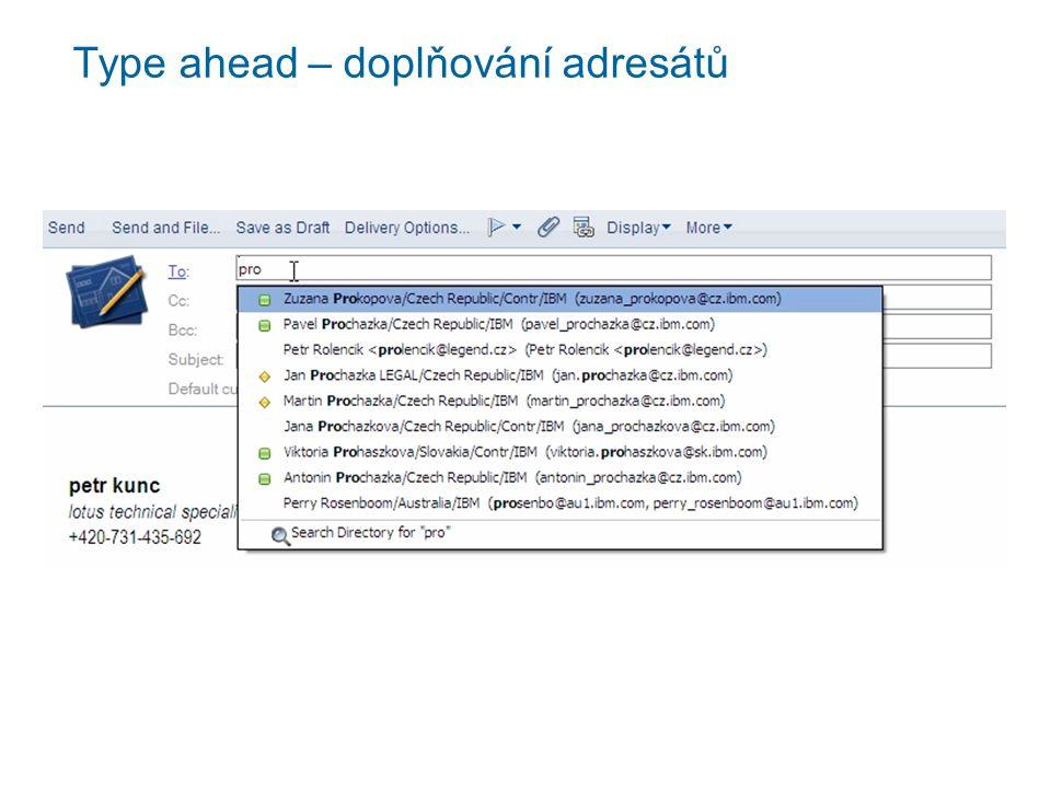 Kategorizace e-mailů podla data