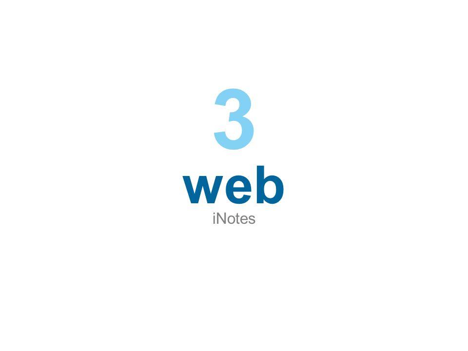 web iNotes 3