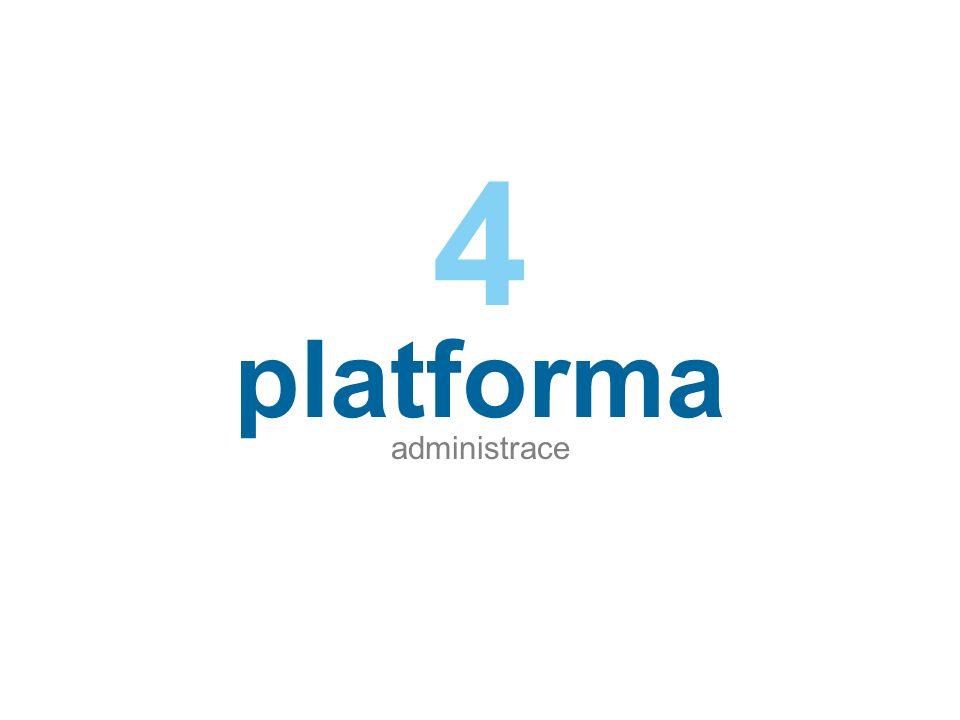 platforma administrace 4