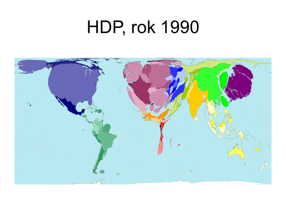 HDP, rok 2015 (odhad) Zdroj: Worldmapper.org