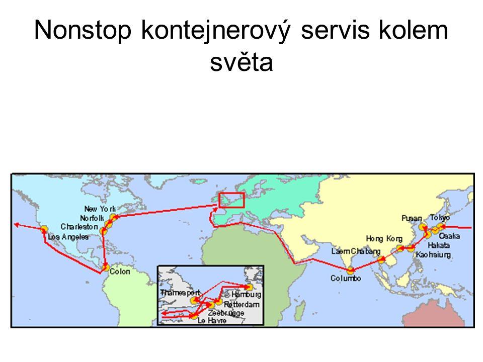 Nonstop kontejnerový servis kolem světa