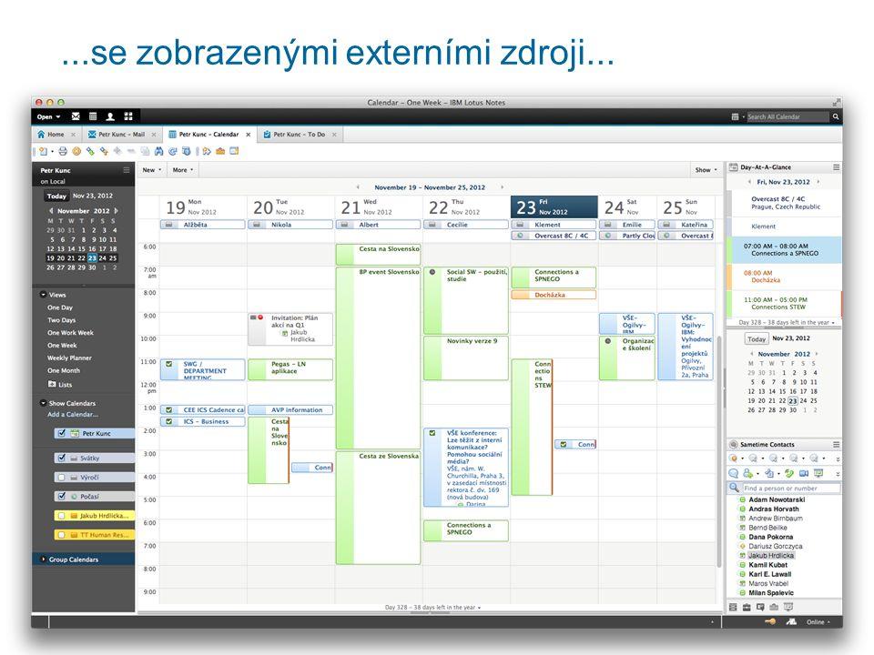 Pro uživatele Možnost práce online i offline (replikace) Přístup přes mobil Přístup k informacím v kontextu (LiveText, widgety v Sidebaru)