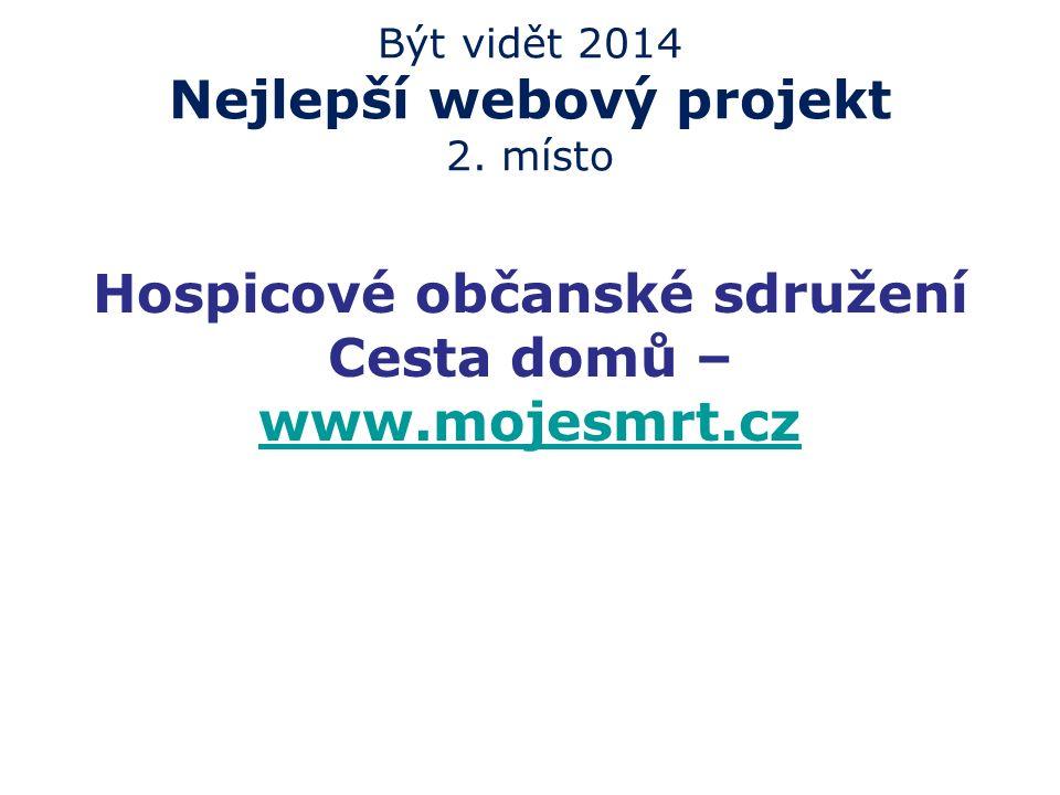 Být vidět 2014 Nejlepší webový projekt 2.