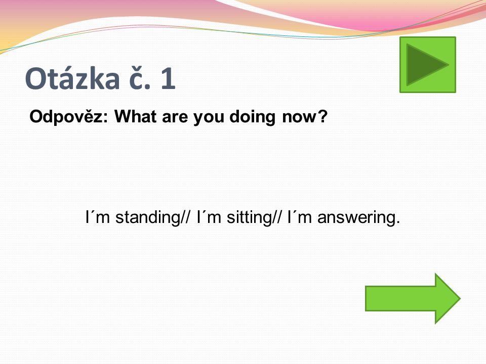 Otázka č. 2 Jakým způsobem vyjádříme v angličtině budoucnost? GOING TO WILL