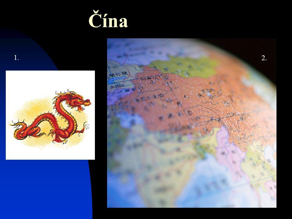 Čína 1. 2.