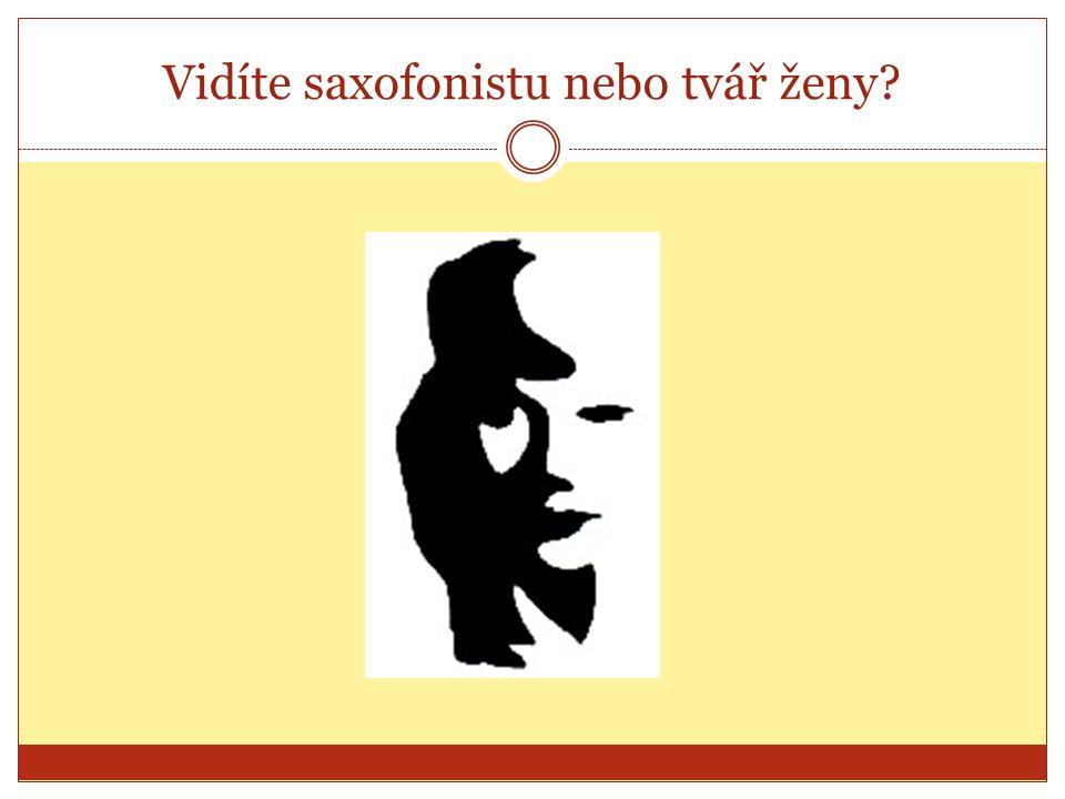 Vidíte saxofonistu nebo tvář ženy?
