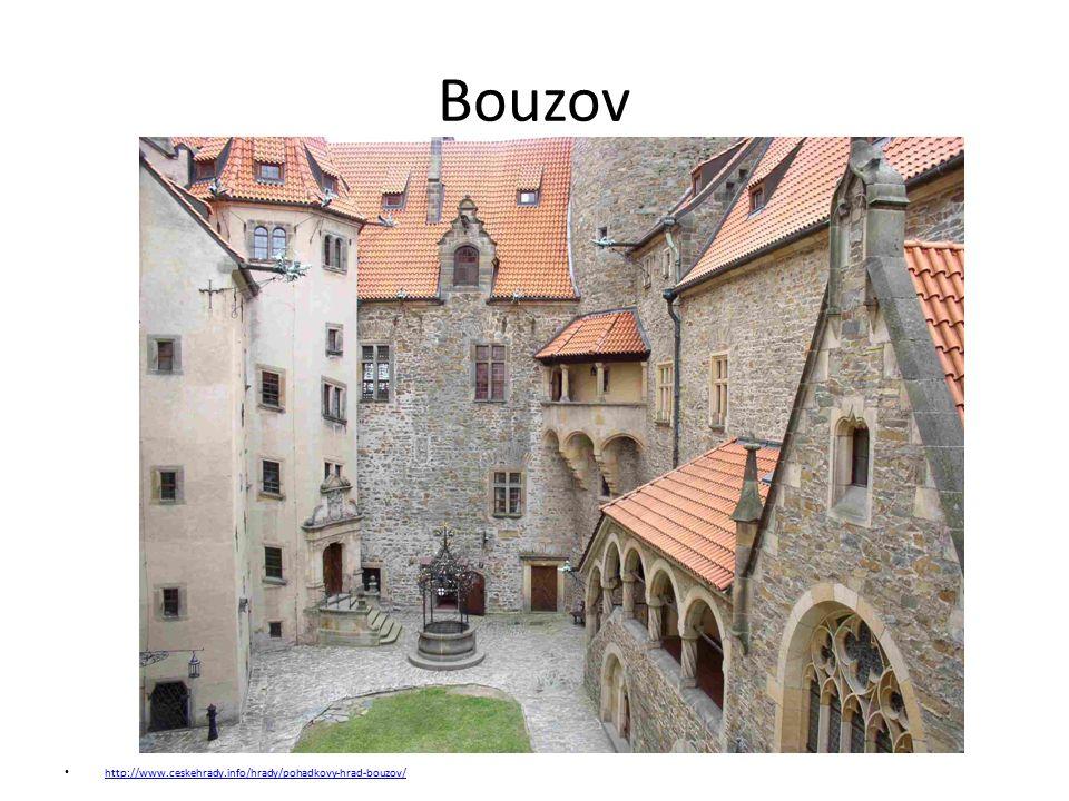 Bouzov http://www.ceskehrady.info/hrady/pohadkovy-hrad-bouzov/