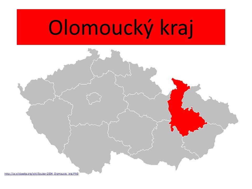 Olomoucký kraj http://cs.wikipedia.org/wiki/Soubor:2004_Olomoucky_kraj.PNG