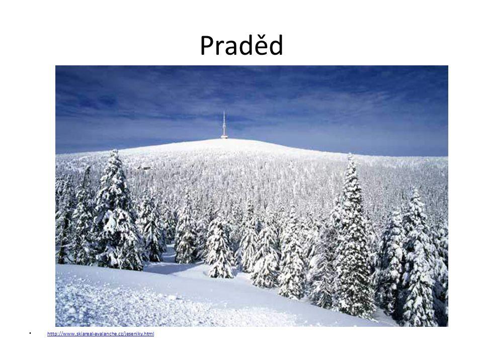 Praděd http://www.skiareal-avalanche.cz/jeseniky.html