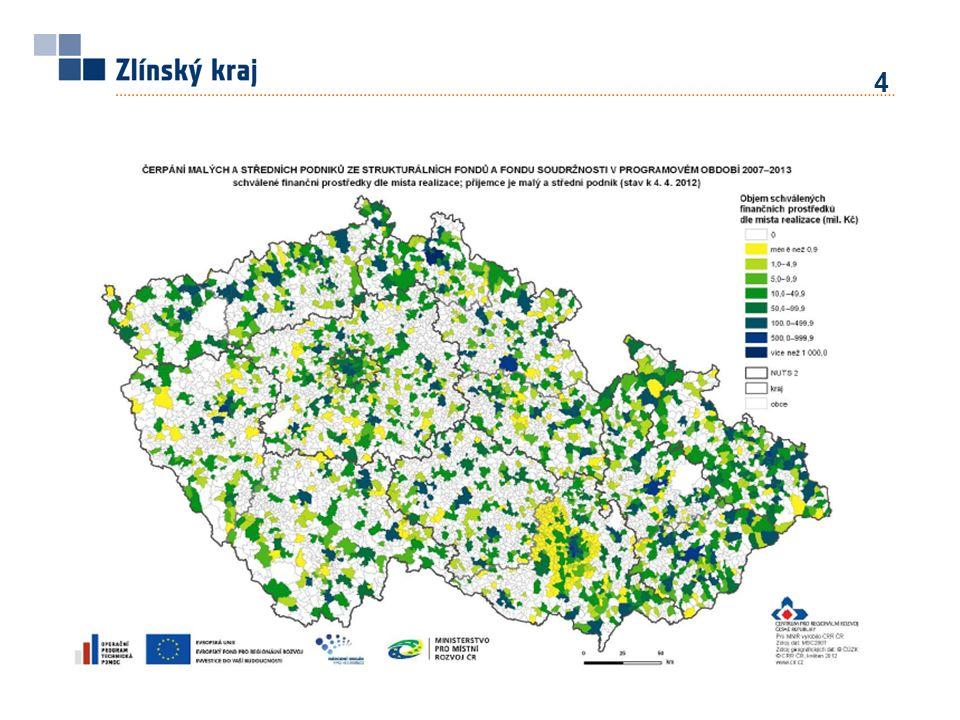 15 Návrh zaměření rozvoje Zlínského kraje – NUTS III Priority – vazba na Tematické priority EU ERDFESFEZRF -aplikace výzkumu a vývoje; regionální inovační projekty, -zesílení sektoru služeb v regionálních a lokálních ekonomikách, -posílení role malých a středních podniků, -konkurenceschopnost stávajících průmyslových sektorů, -maximální schopnost využití regionálních a lokálních zdrojů, -kvalitativní aspekty rozvoje cestovního ruchu, kulturního a přírodního dědictví, -diverzifikace ekonomických činností na venkově, -kvalitativní stránky rozvoje dopravy.