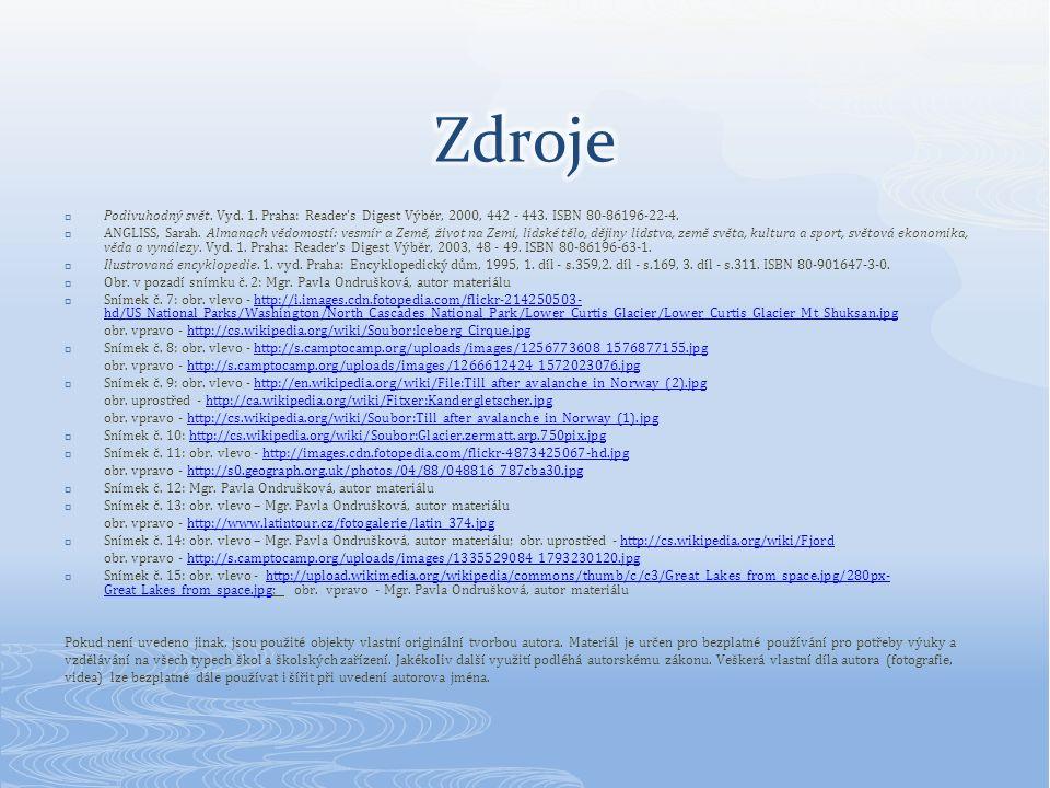  Podivuhodný svět. Vyd. 1. Praha: Reader s Digest Výběr, 2000, 442 - 443.
