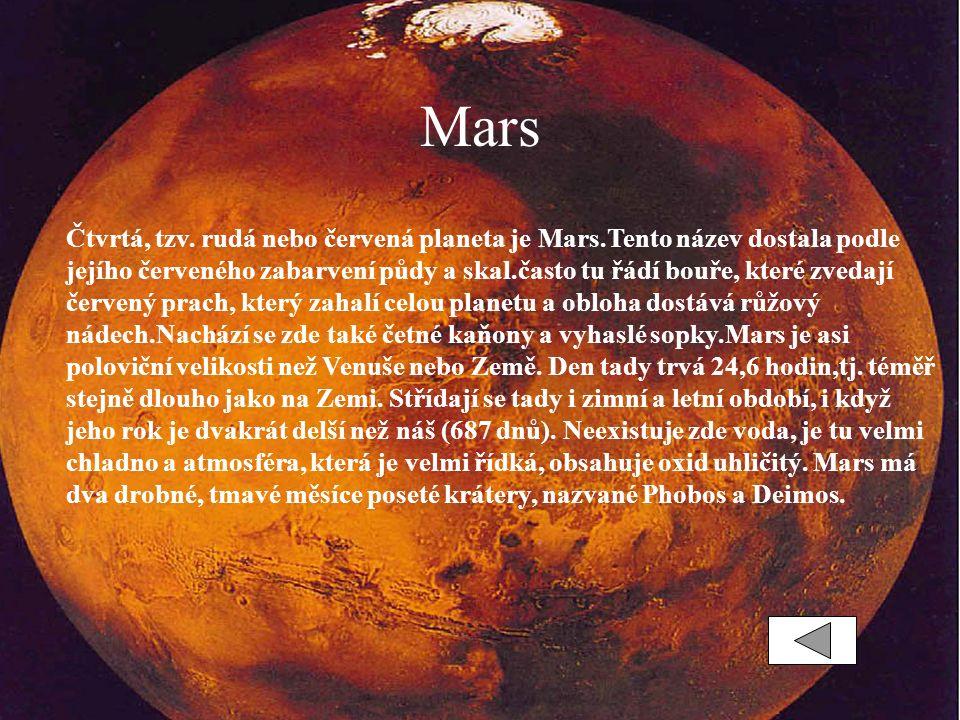Mars Čtvrtá, tzv.