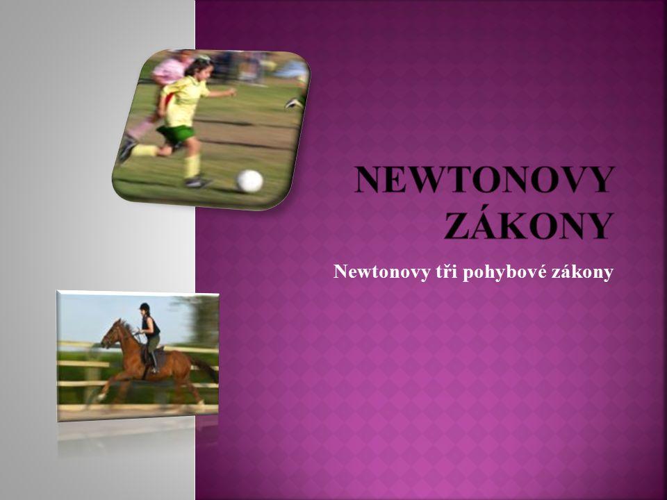 Newtonovy tři pohybové zákony