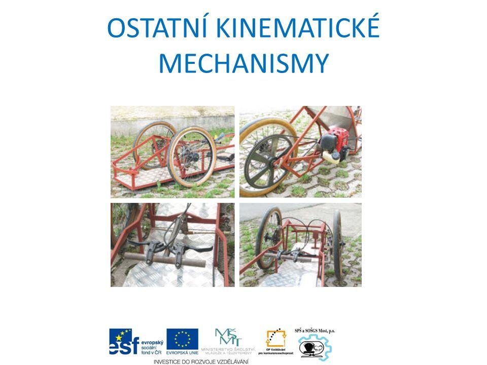 NŮŽKOVÝ MECHANISMUS Nůžkový mechanismus má díky své jednoduché konstrukci uplatnění v různých odvětvích lidské činnosti.