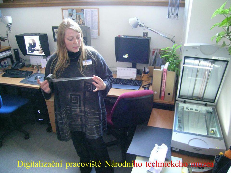 Digitalizační pracoviště Národního technického muzea