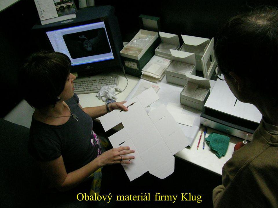 Obalový materiál firmy Klug