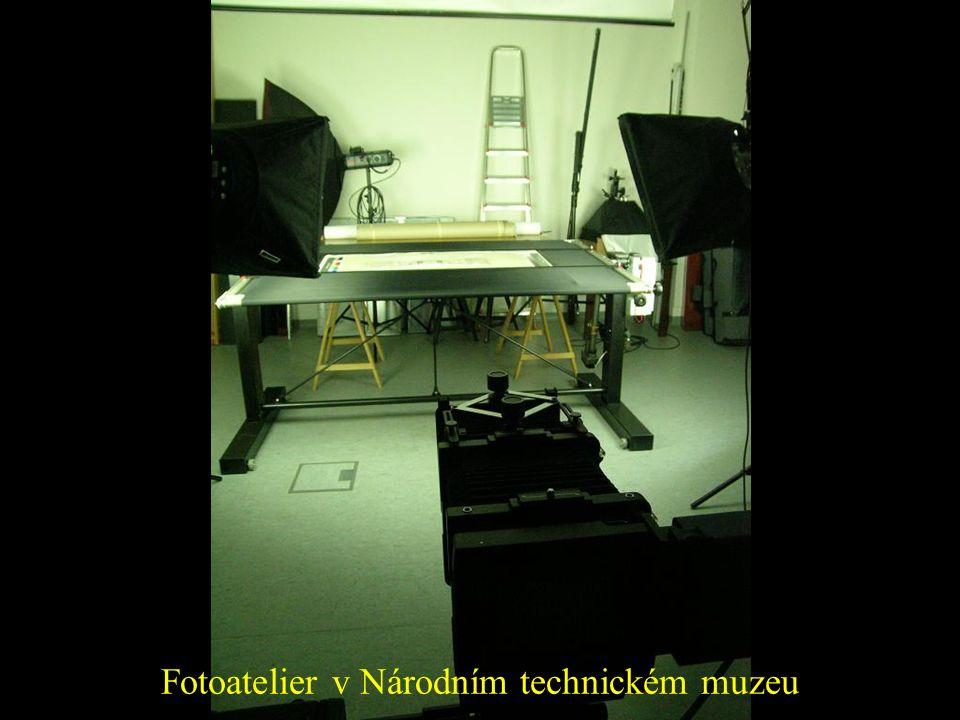 Fotoatelier v Národním technickém muzeu