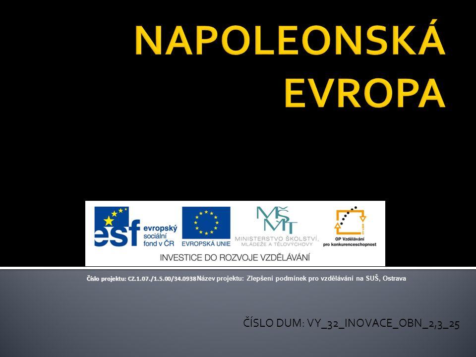 ČÍSLO DUM: VY_32_INOVACE_OBN_2,3_25 Číslo projektu: CZ.1.07./1.5.00/34.0938 Číslo projektu: CZ.1.07./1.5.00/34.0938 Název projektu: Zlepšení podmínek pro vzdělávání na SUŠ, Ostrava