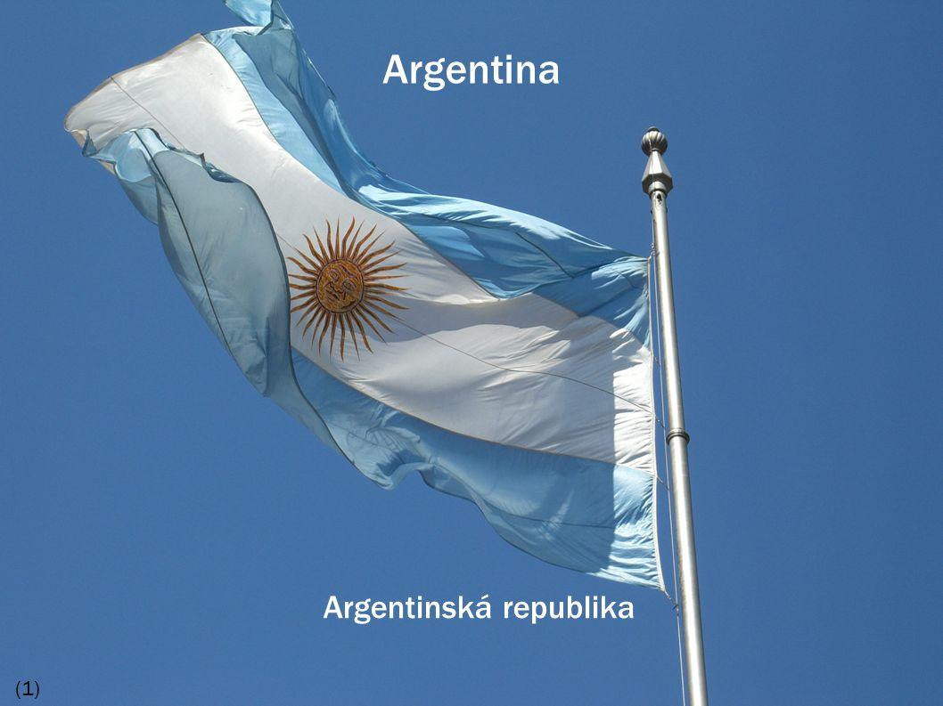 Argentina Argentinská republika (1)