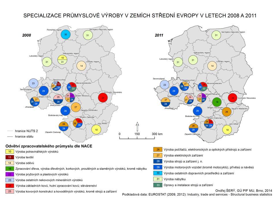  hrubý domácí produkt - podobné tendence jako jinde ve střední Evropě Ekonomická krize v České republice