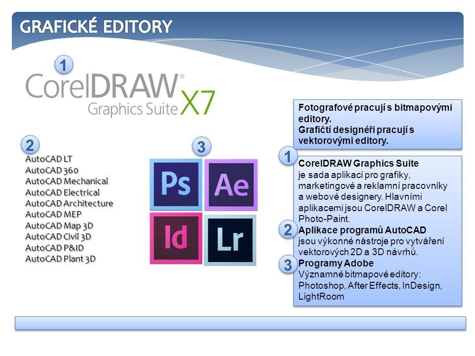 CorelDRAW Graphics Suite je sada aplikací pro grafiky, marketingové a reklamní pracovníky a webové designery. Hlavními aplikacemi jsou CorelDRAW a Cor