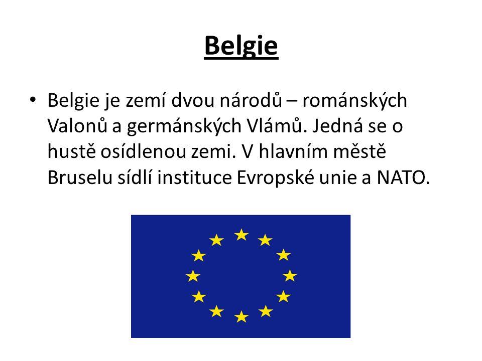Belgie Belgie je zemí dvou národů – románských Valonů a germánských Vlámů.