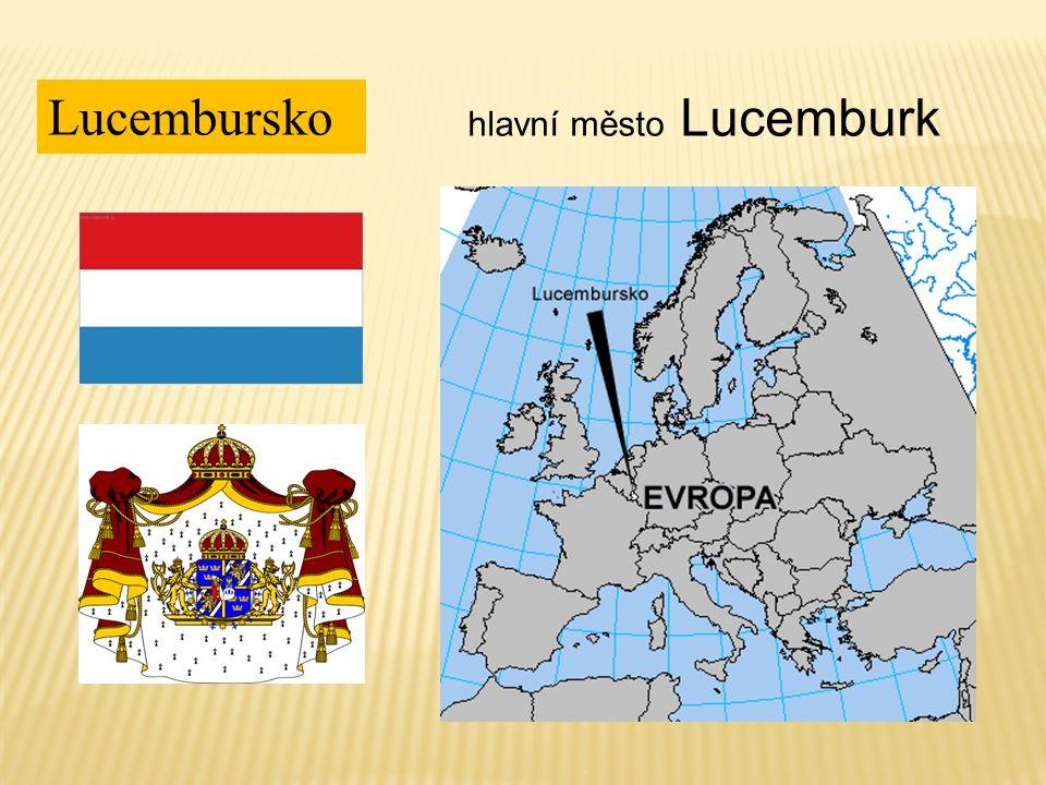 Lucembursko hlavní město Lucemburk