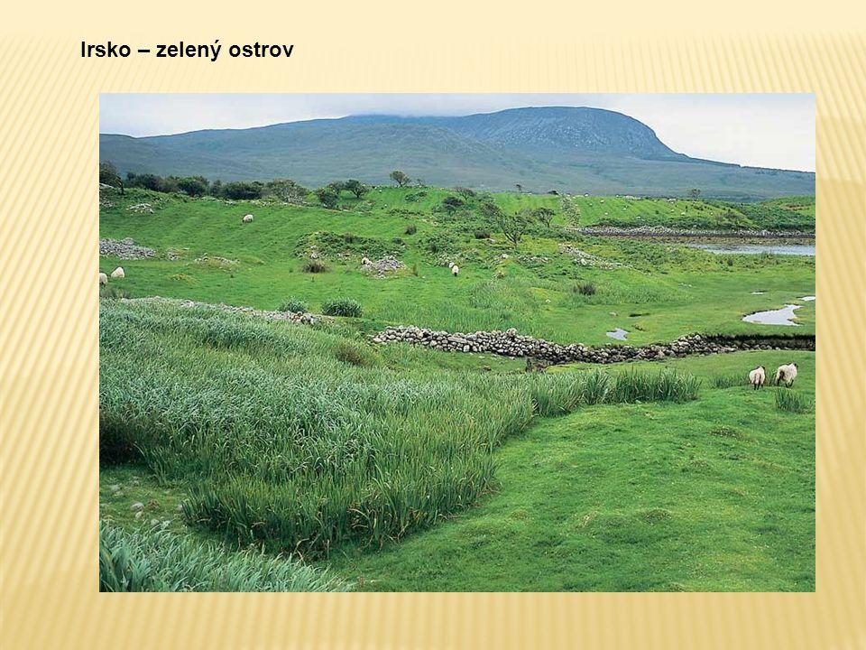 Irsko – zelený ostrov