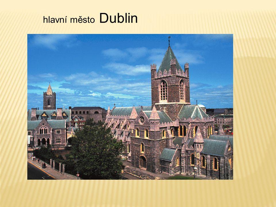 hlavní město Dublin