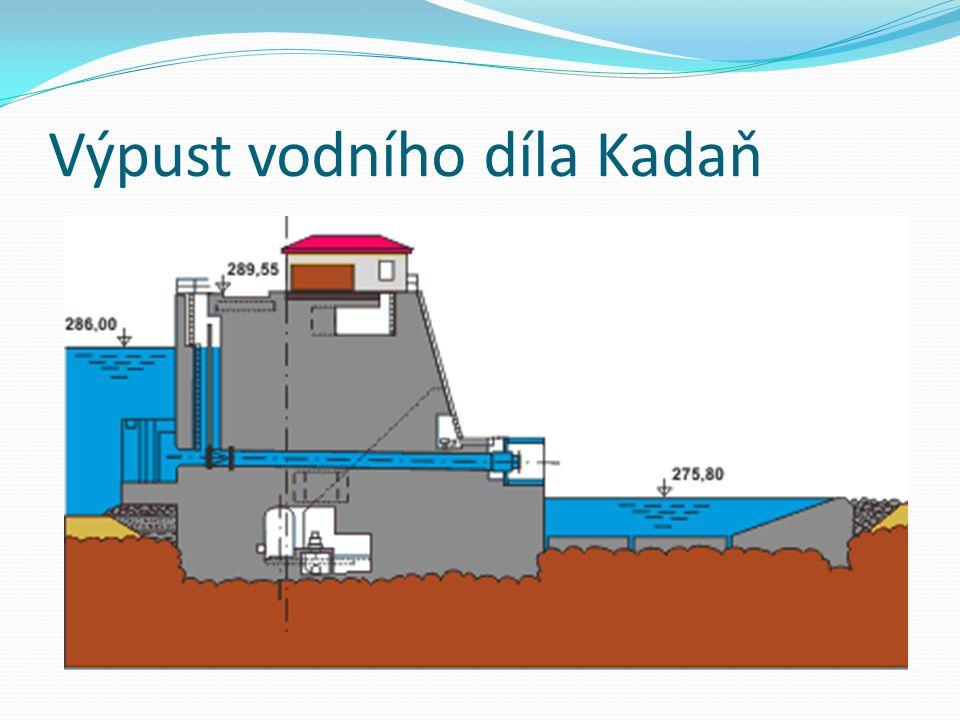 Výpust vodního díla Kadaň