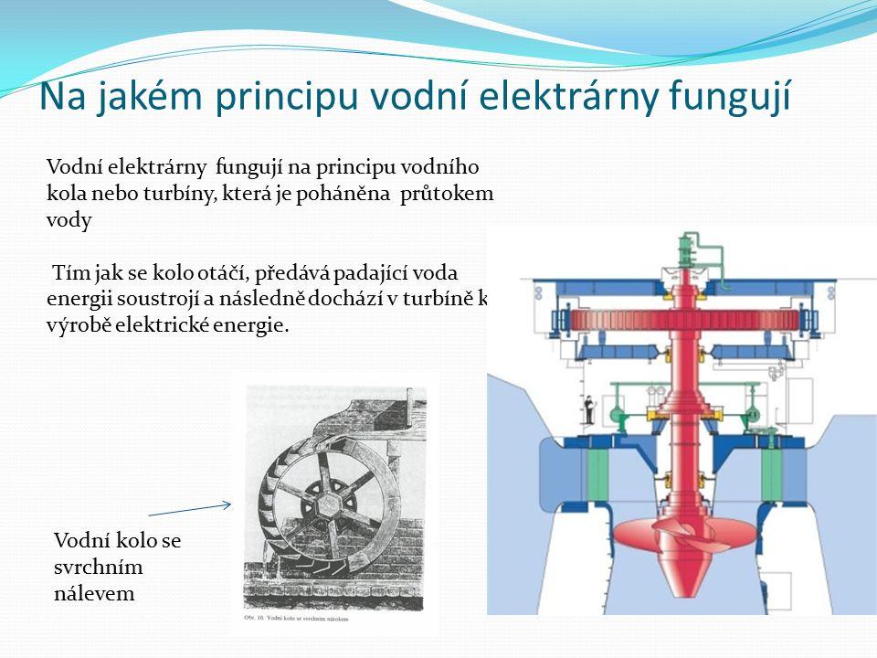 Druhy turbín Existuje řada druhů turbín, které jsou využívány na vodních elektrárnách.